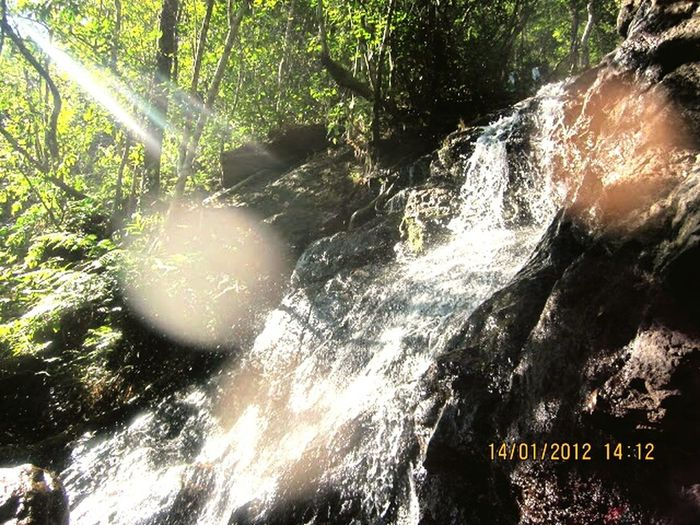 SeemaAndhraPradesh 2012 Waterfalls Water_collection Water Stream Indianforest Late Afternoon click