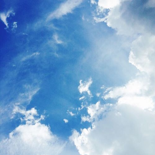 Clouds Clouds And Sky Blue Pure ㄱ름White Cotton Candy Sky