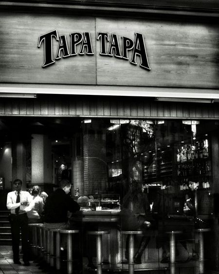 Black And White Photography Tapasbar Walking Around Walkandclick TheWeekoneyem Iamhungry Tapas Bar Passeig De Gràcia Barcelona