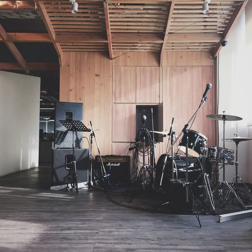 Play time! Music Live Music Drums Enjoying Life Entertaining Leisure Wooden Room