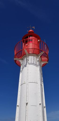 Politics And Government Lighthouse Military Red Protection Business Finance And Industry Safety Blue Sky Architecture
