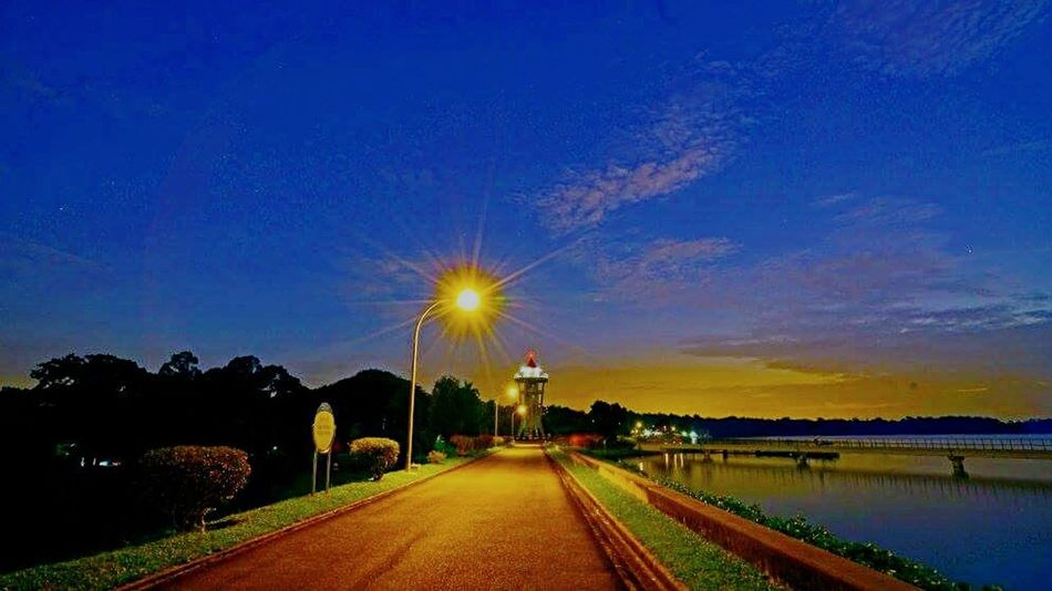 Sunset_collection lighthouse Star Bursts evening walk Hanging Out Check This Out Relaxing My Humble Photo Singapore beautiful evening upper seletar reservoir