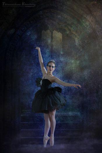 Kru Jaew, a ballet dancer. DrNui Photographic Creations Ballet ❤ Bangkok Thailand