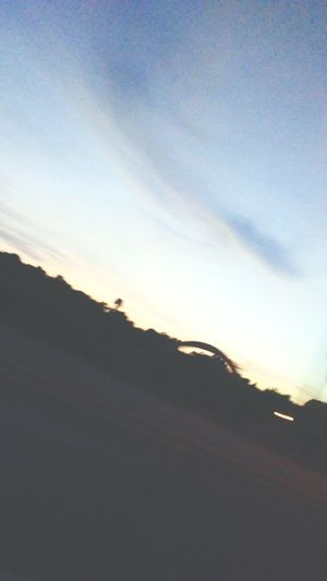 Blury Pic Cloud - Sky Road Transportation No People Landscape Sky Beauty In Nature Night