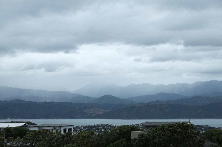 Nils Nowacki #thiscouldbenewzealand City Clouds Landscape Mountains New Zealand New Zealand Impressions Nils Nowacki Wellington