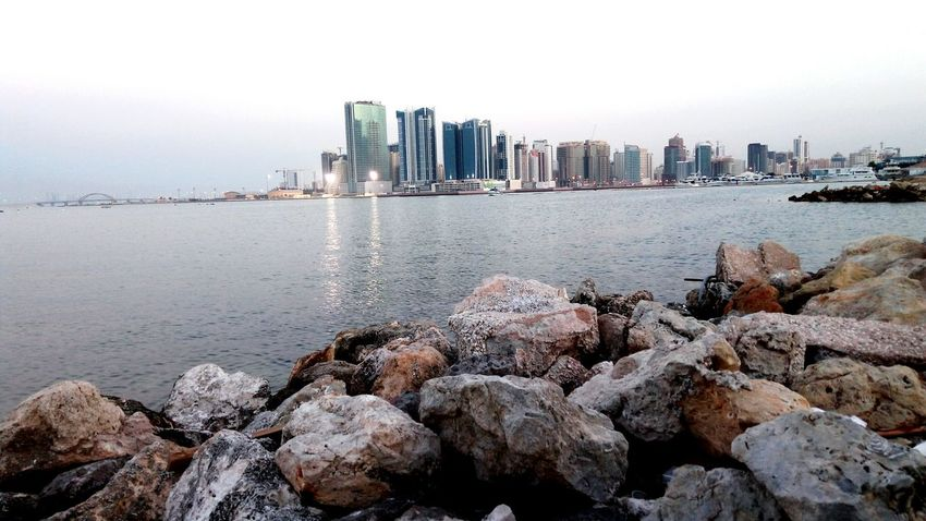 Bahrain Tourism Seaview Manama Bahrain Photography City Water Reflection Sky Nature