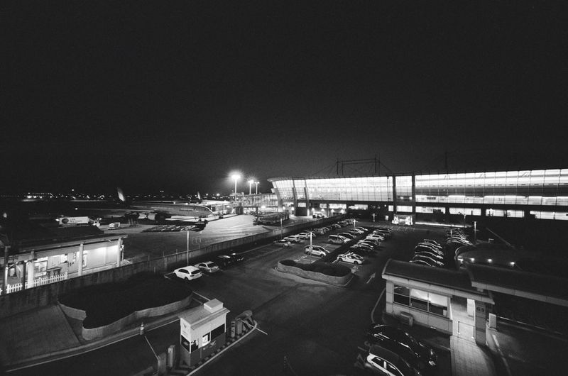 At The Airport Incheon Incheon International Airport Korea January 2016 Barnack IIIf Ilford HP5 Plus Ilford HP5 Plus 400 Ilford Ultrawide Heliar 12mm 12mm  Showcase: February Evening Voigtländer