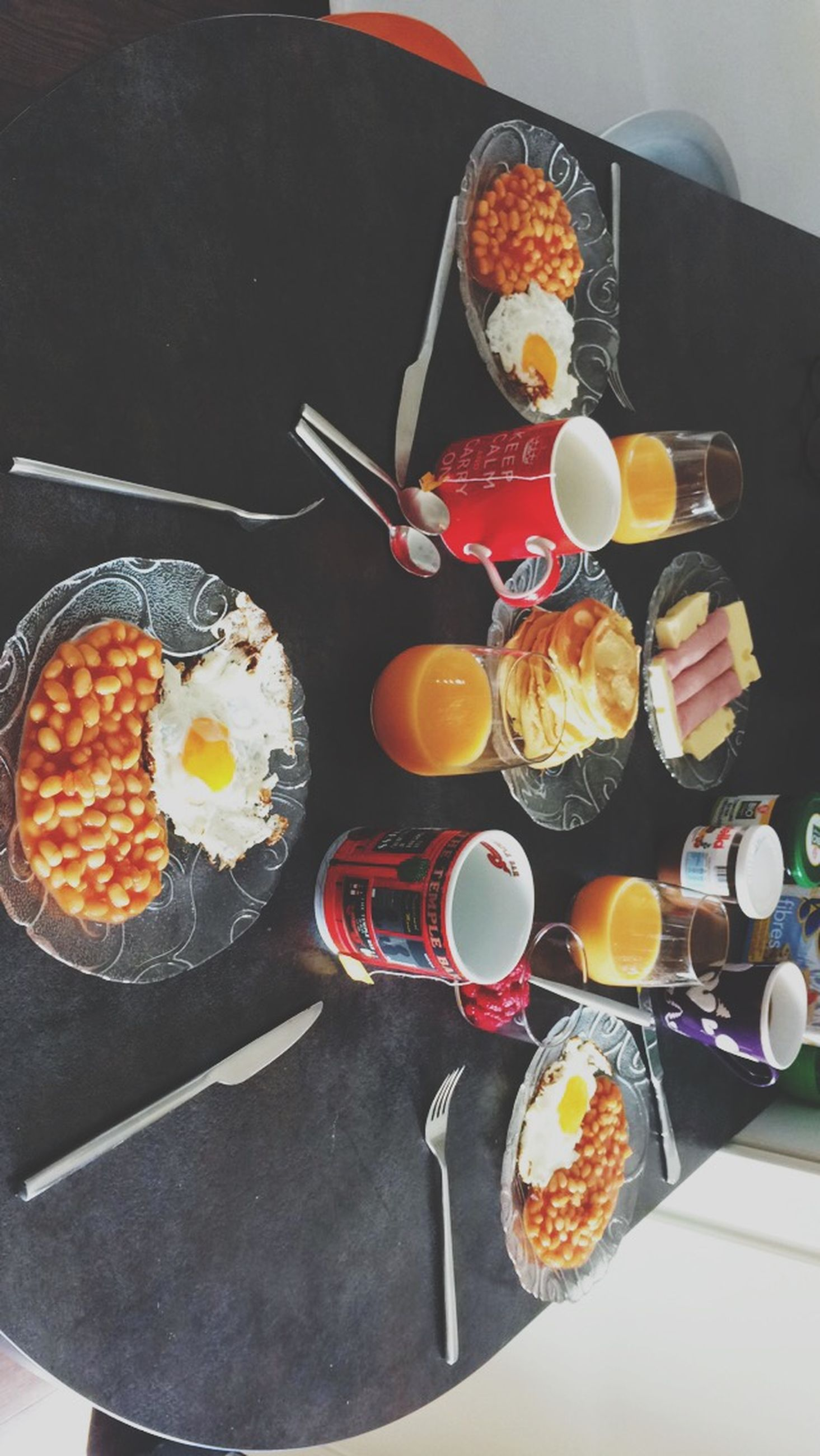 food and drink, food, indoors, freshness, table, ready-to-eat, healthy eating, high angle view, still life, plate, preparation, meal, indulgence, fork, bowl, preparing food, spoon, cooking, serving size