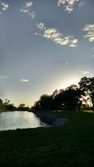 My Country In A Photo Sun slowly setting while at our park in our town of Cahokia, Illinois. Walking Around Relaxing Enjoying The Sun Flowers, Nature And Beauty