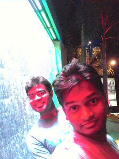 Redlightphoto FunnyFaces With My Friend Evng_walk