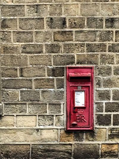 Bricks England Mailbox Post Red Rule Of Thirds Skipton Yorkshire EyeEmNewHere Great Britain British Britain Royal Mail United Kingdom