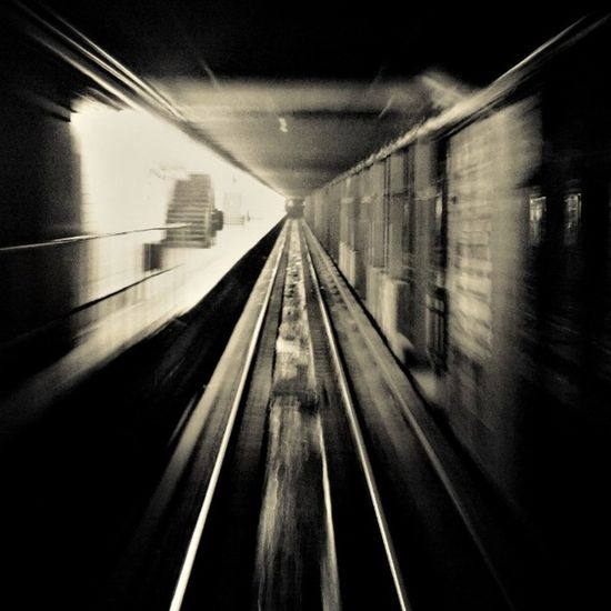 Tunnelvision Caught this riding in the hind-most car of the C train. I love to be either in the first or last car; only train that really gives you a look at the subway system!!! Only edits are colour/contrast-related, no blur effect. Slowed down the shutter speed and this happened... I LOVE my Nokialumia1020 !! ISeeThingsOtherPeopleDont TeamNokia Lumia1020photography iHeartNY NYC ny travel MTA commute transit