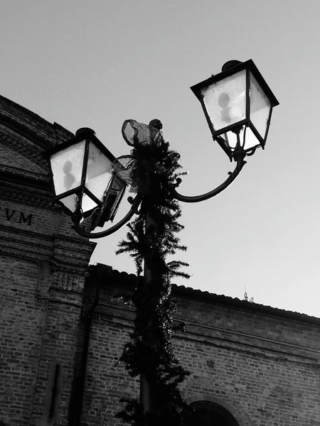 Govone Piemonte Govone  Piedmont Italy Govone  Govone (CN) Piemonte Street Light Light Blackandwhite Black & White Low Angle View Sport Day Clear Sky Sky Outdoors Court Tree No People