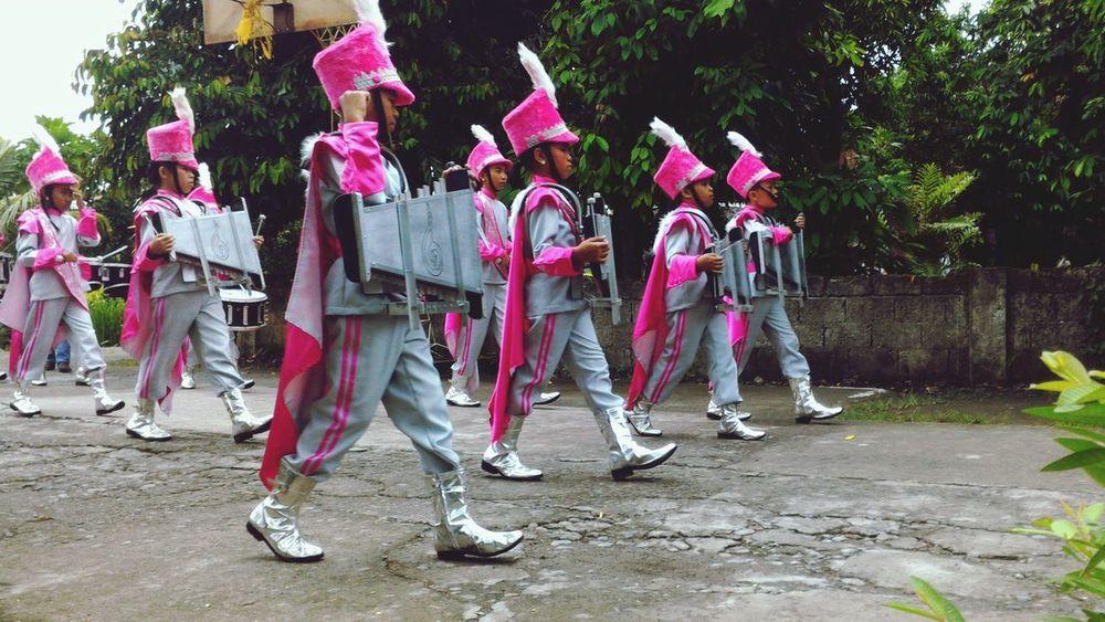 Fiesta Marching Band Streetparade Eyeem Philippines Parade Cadence