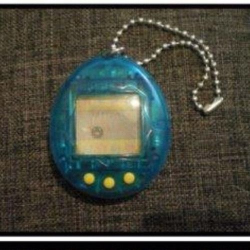 I bugged my mom for one of these and was soooo excited when I got one ?? 80sBaby Childhood GoodTimes Tamagotchi