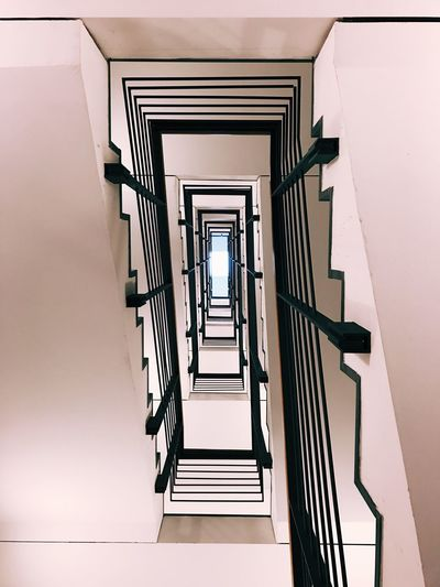 View of spiral stairs
