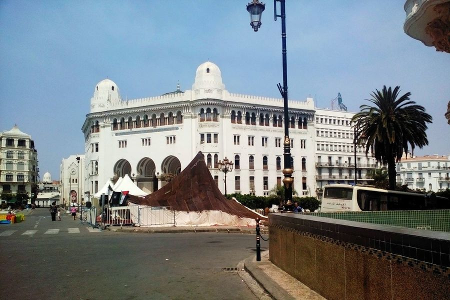 Open Edit Phoneography Historical Building Amazing Architecture Architecturelovers in Capital Of algeria Getting Inspired Architecture_collection Architecture Post Office