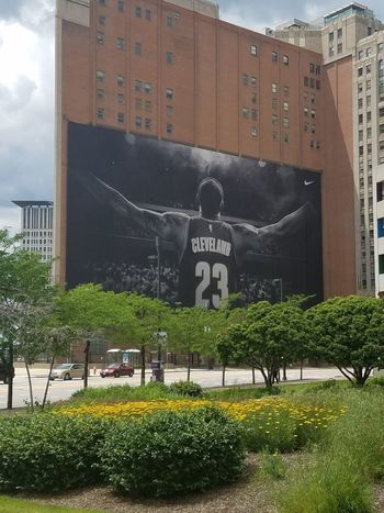 Outdoors City Sky Cleveland Cleveland Ohio Clevand Cavaliers Lebron James Lebron James Lebron