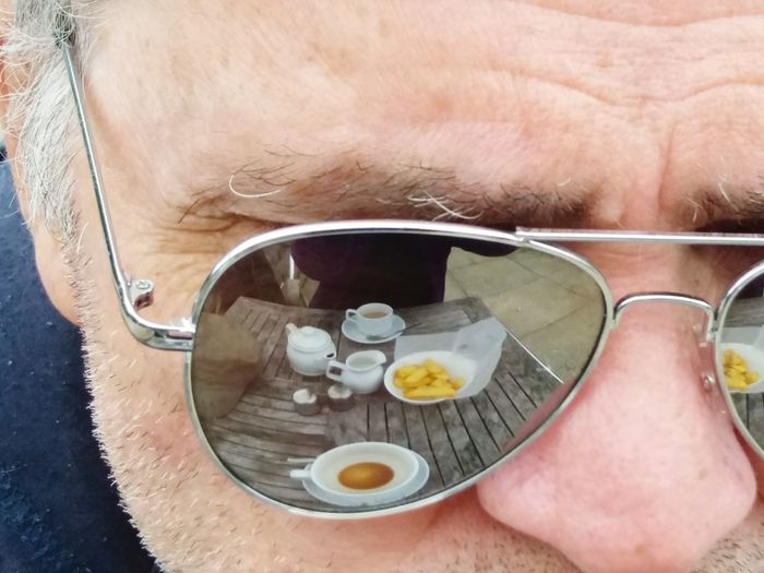 My significant other One Person One Man Only Human Body Part Adult Close-up Sunglasses Reflection Sunny Summer Relaxing Vision EyeEm Best Shots EyeEm Gallery Outside