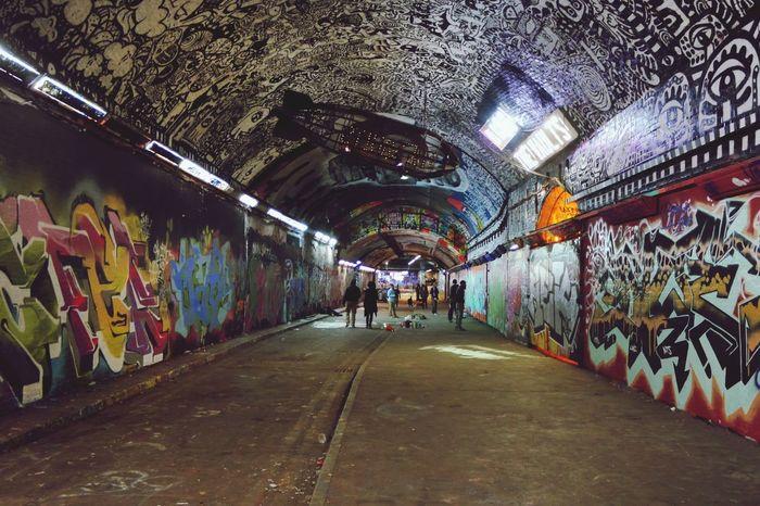 Graffiti Leake St London
