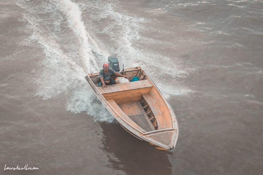 Boat Taxi Water Watertaxi Brunei Watervillage BandarSeriBegawan Wooden WoodenBoat