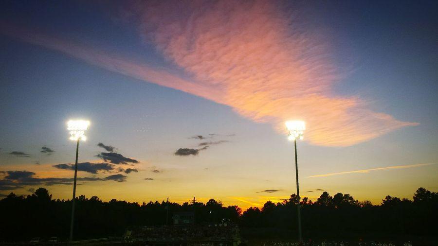Friday Night Lights Wings Sky