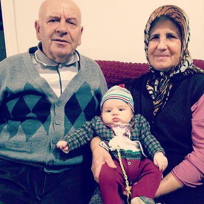 Buyukbaba ve babaanneye ziyaret