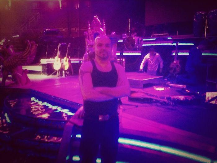 Backstage Romeo Santos Concert