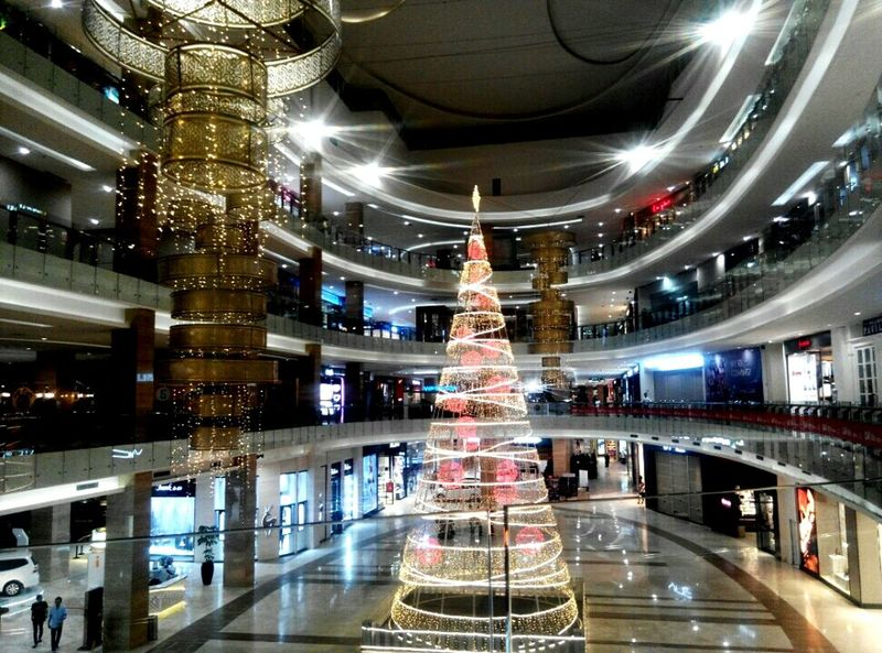 Christmas is coming😍☃⛄🎄🎁🎉 Close-up Architecture Built Structure Reflection Travel Destinations Travel Christmas City Large Cultures Building Exterior Place Of Worship Night Business Finance And Industry No People Illuminated Indoors  Space Snow Sports