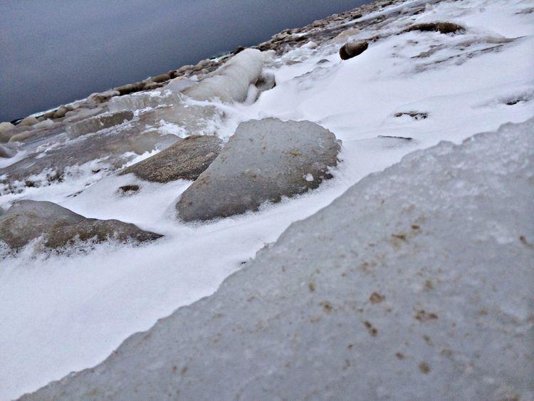 Sea and ice Sea Beach Winter Baltic Sea