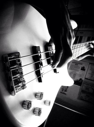 Guitar Base Guitar Ashish Gavit. Indoors  Close-up Musical Instrument Music