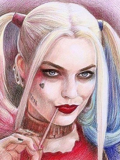 Dibujo Drawing Girl Power Beautiful Girl