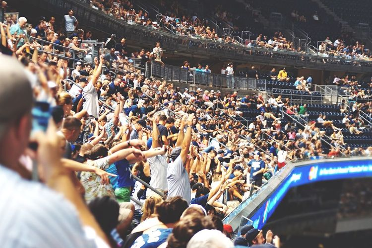 Let's go Yankees / La Ola The Best Of New York Open Edit NYC Photography Yankees Peoplephotography Fresh 1 The Human Condition Emotions