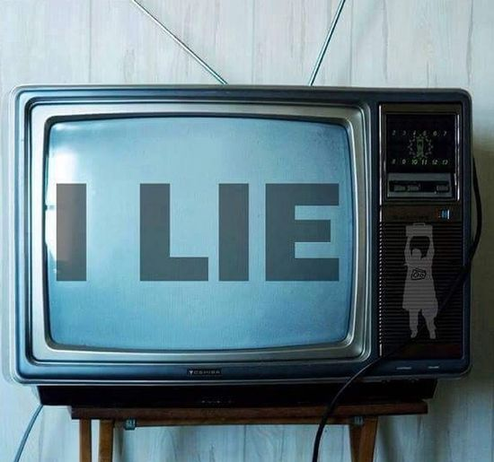 Television Lies Wasted Hello World World News