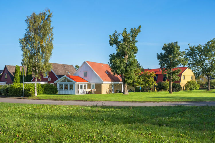 Detached house in a residential area