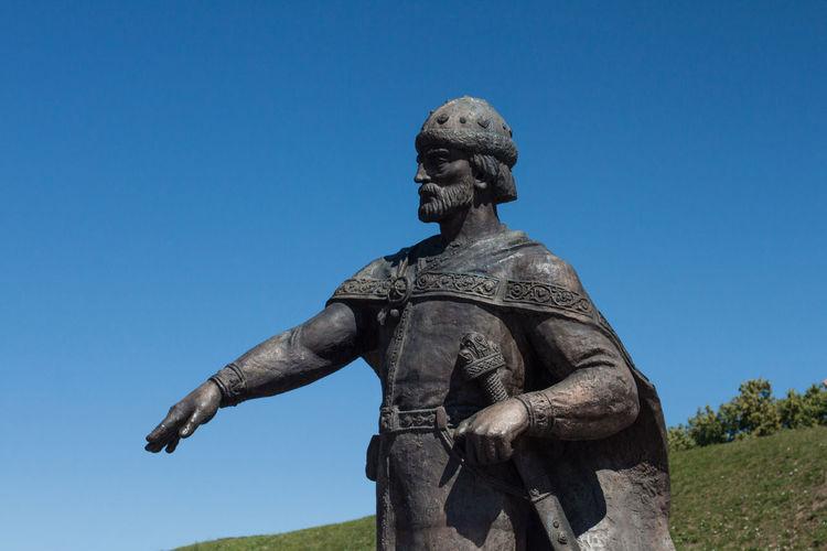 Monument of Yuri Dolgoruky, Dmitrov, Russia Art Close-up Day Monument No People Outdoors Sculpture Statue Yuri Dolgoruky