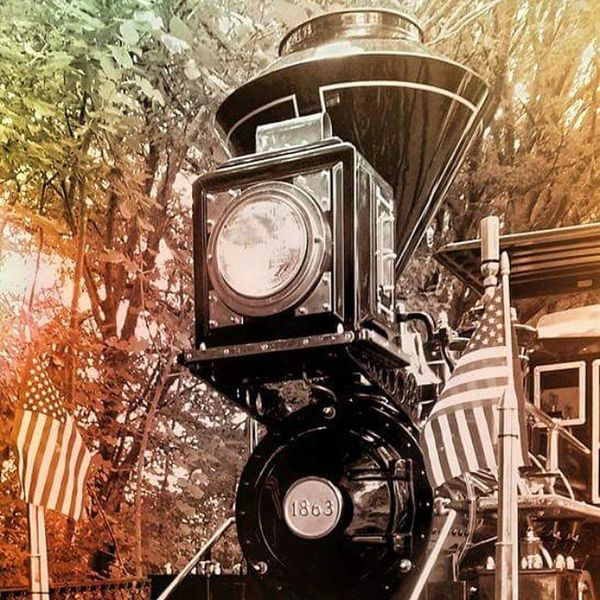 Instagram crop is WACK Train Engine Photographer Hatecrop Myeye Traintrack Steam Coal Coolshot JESUSISREAL USA