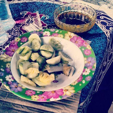 Rujak maniiiiiiisss muah :* Weekend Instafood Wedsnacks Vege fruits