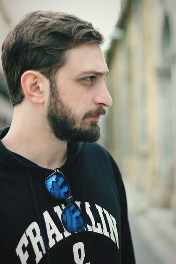 Portrait Beard Men Headshot Arts Culture And Entertainment Fashion Mid Adult Individuality Jacket Close-up