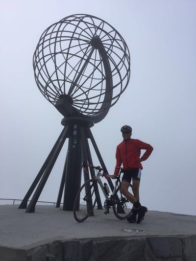 North cape by bike Full Length Bicycle One Person Childhood Boys Real People An Eye For Travel