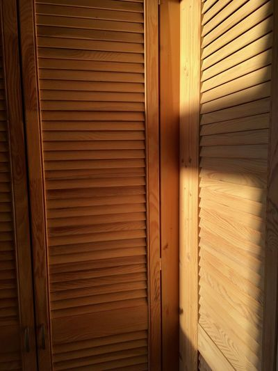Blinds Brown Cabinet Cabinets Closed Closet Day Daylight Indoors  Morning Sun Order Pattern Shadow Shadowplay Shadows Shadows & Lights Shutter Summer Summertime Sunlight Textured  Warm Wood Wood - Material Wooden