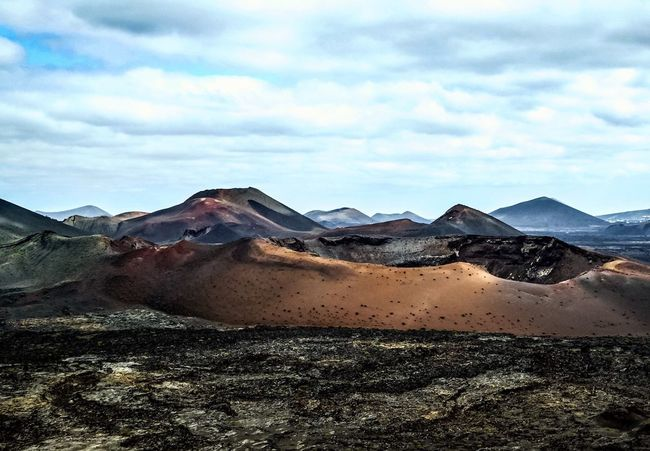 Timanfaya Volcanoes Volcanic Landscape Hot Earth Landscape Landscape_Collection OpenEdit Lanzarote-Canarias Volcano Crater Nature Photography Landscapes With WhiteWall The KIOMI Collection The Great Outdoors - 2016 EyeEm Awards