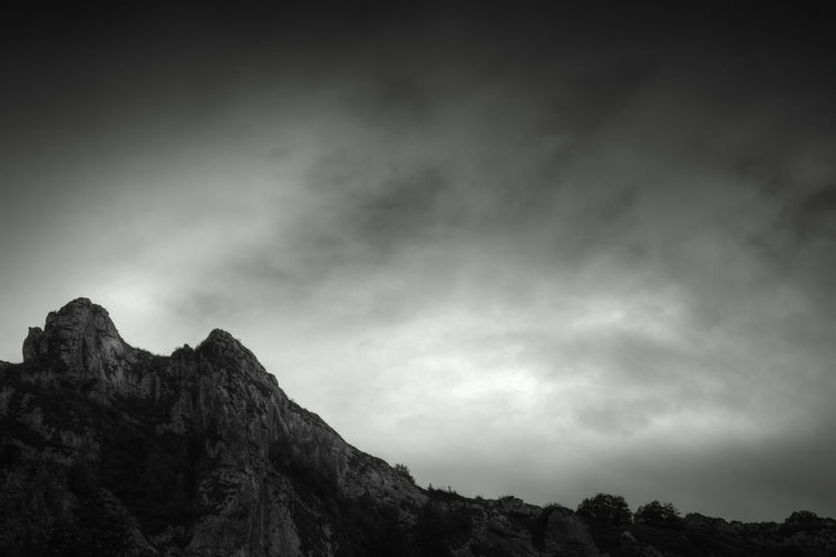 Urkulu Nature Travel Tourism No People Mountain Nature Nature Photography Blackandwhite Black And White Bnw Cloud - Sky Clouds And Sky Calm Relax Mountain Astronomy Tree Rock - Object Sky Landscape Geology Rocky Mountains Storm Cloud