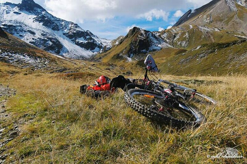 During vtt trip french alp. Before col du bonhomme. Bikelife Mountain Landscape Mhlchaudeurphotographies Fujixm1 France Frenchalps