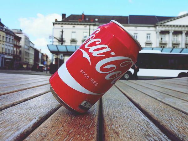 Cocacola Balance Controle Enjoying The Sun Redwhite ArtWork