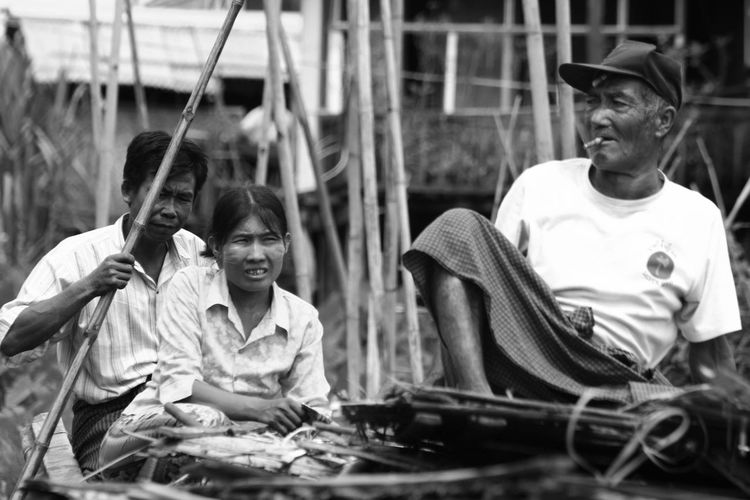 Black & White Black And White Black And White Collection  Black And White Photography Boat Burma Culture Daily Life Inle Lake Intha Lake Myanmar People People Photography Row Shan Travel Travel Destinations Travel Photography Traveling