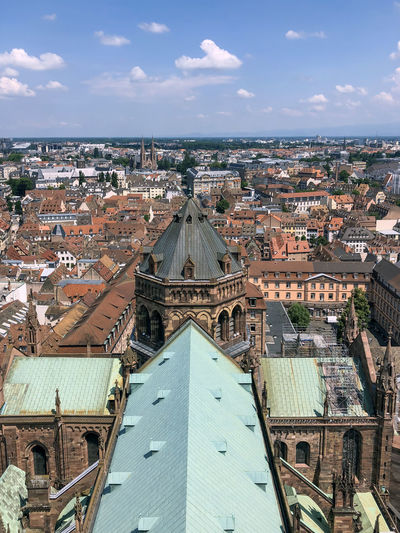 Strasbourg - cathedral notre-dame - stock photo
