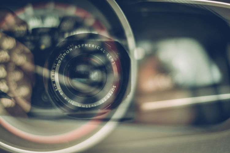 Abstract Car Close Up Close-up Dashboard Focus On Foreground Fuji Camera Selective Focus Speedometer