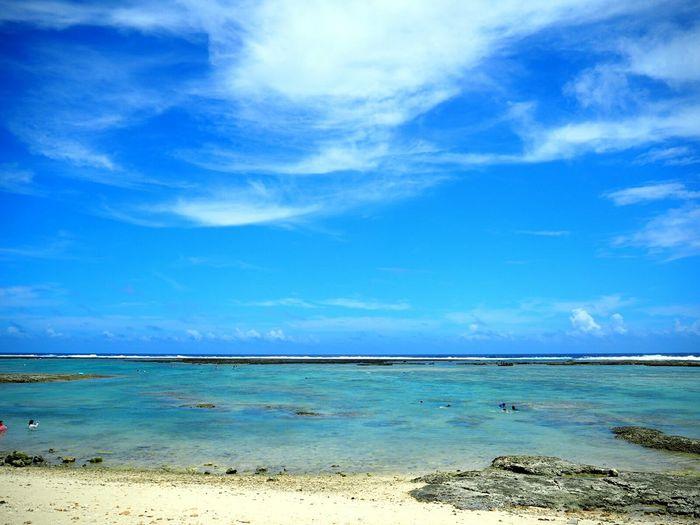 Sea Sea And Sky Sky Okinawa
