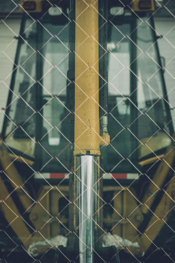 Chainlink Chainlink Fence Double Exposed Fence Front View Overlayed Track Window